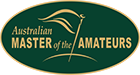 Australian Master of the Amateurs Logo
