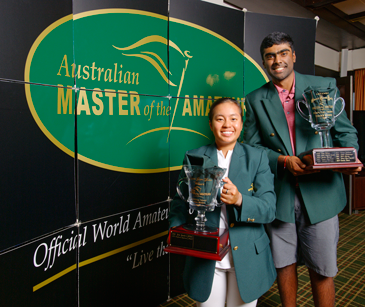 Name and Name are winner of the 2019 MOTA Master of the Amateurs Tournament